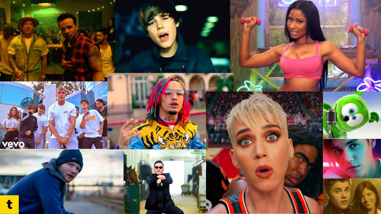 Most Disliked Music Videos In Youtube History Toplistin